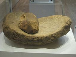 256px-Saddle_Quern_and_Rubbing_Stone
